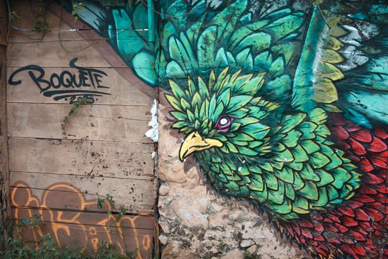 arte de rua em Boquete Panamá