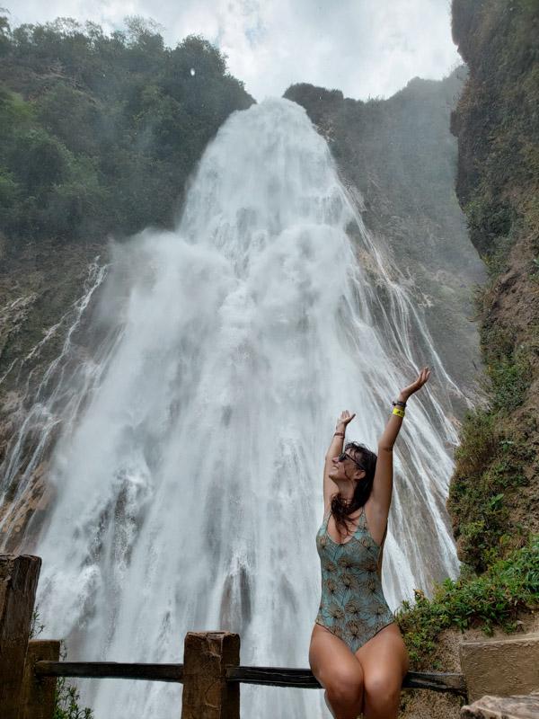 Cachoeira Véu da Noiva El Chiflón Chiapas