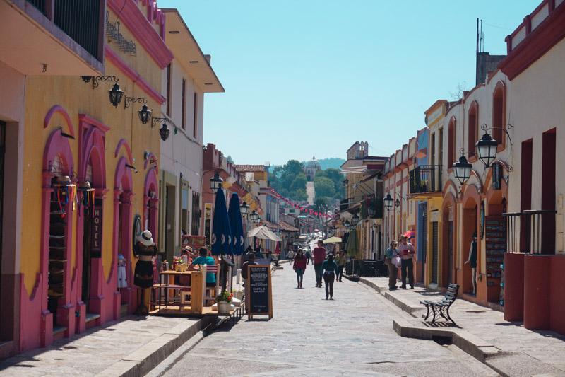 Calle Real de Guadalupe San Cristóbal México