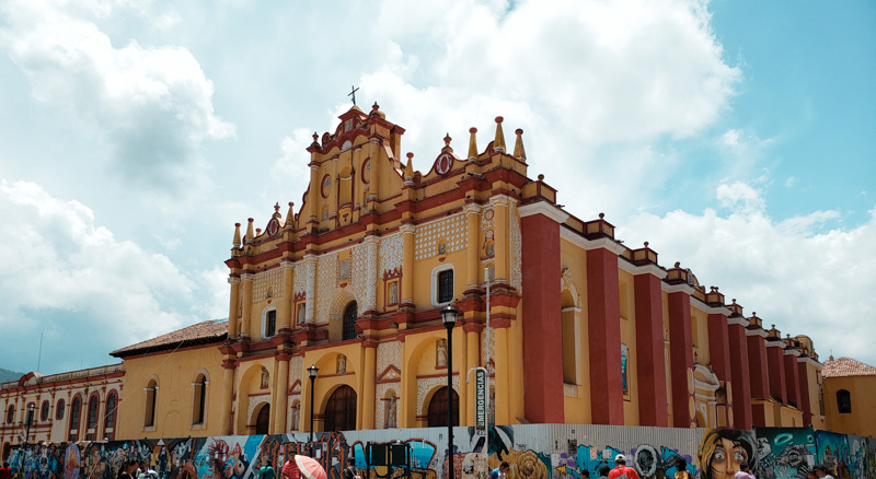 Catedral San Cristóbal San Cristóbal de las Casas México