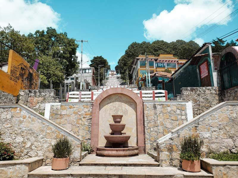Escaleras de San Cristobalito Chiapas México