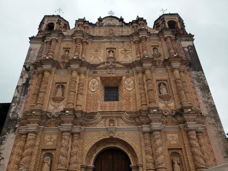 Iglesia de Santo Domingo San Cristóbal de las Casas Chiapas México