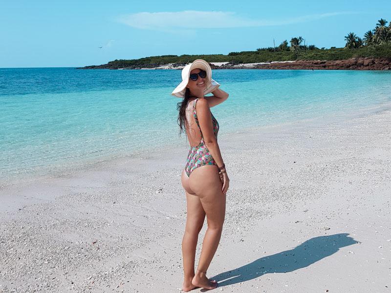 Isla Iguana águas cristalinas