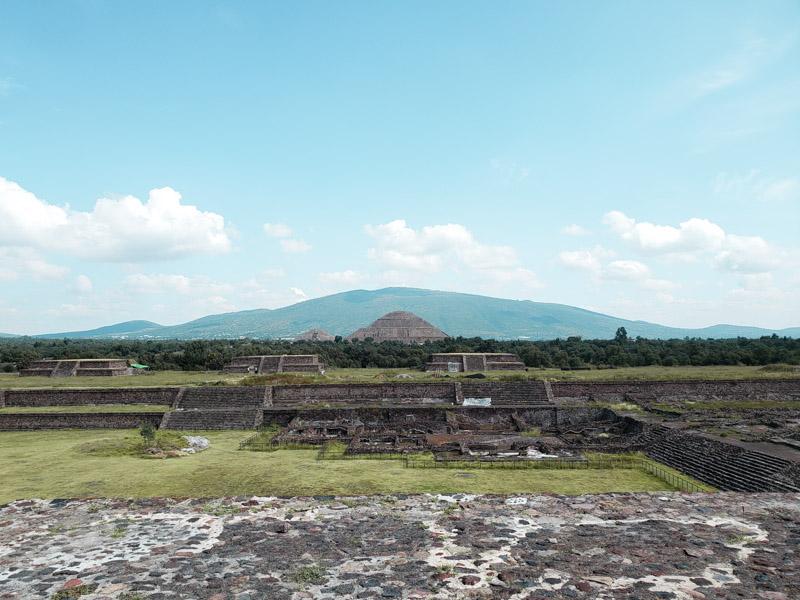 La Ciudadela Ruínas de Teotihuacán