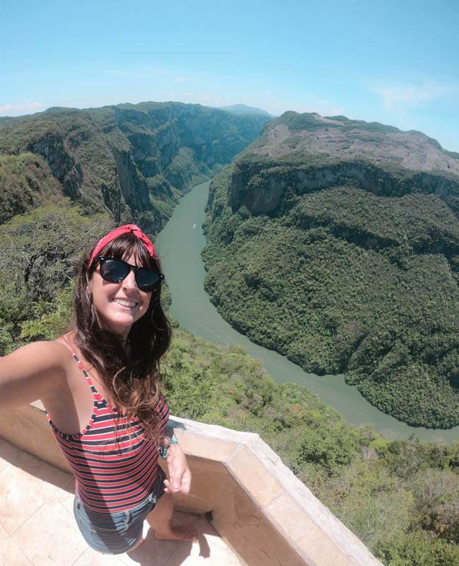 Mirador Canon del Sumidero Chiapas México