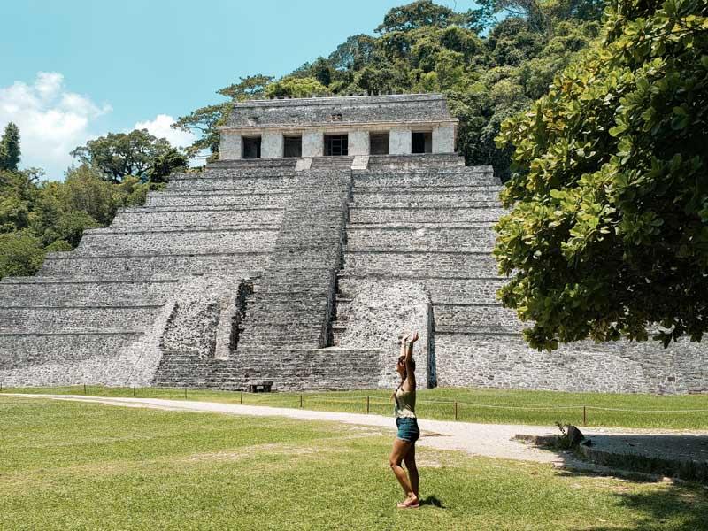 Palenque Chipas México