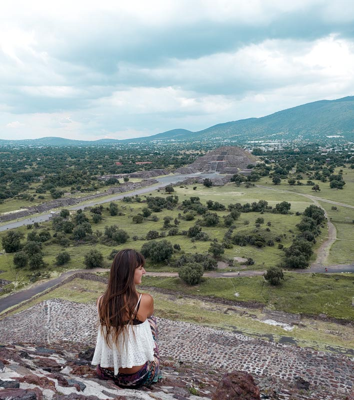 Pirâmide del Sol Teotihuacan