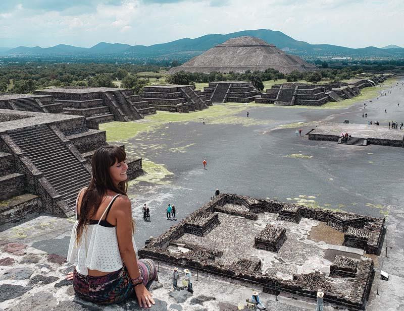 Pirâmide da Lua Teotihuacan México