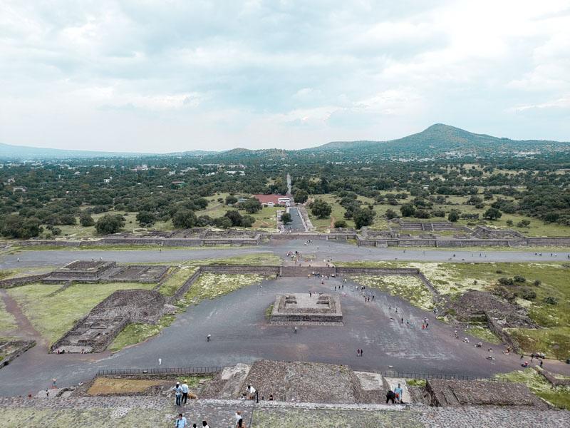 Sítio Arqueológico Teotihuacan México