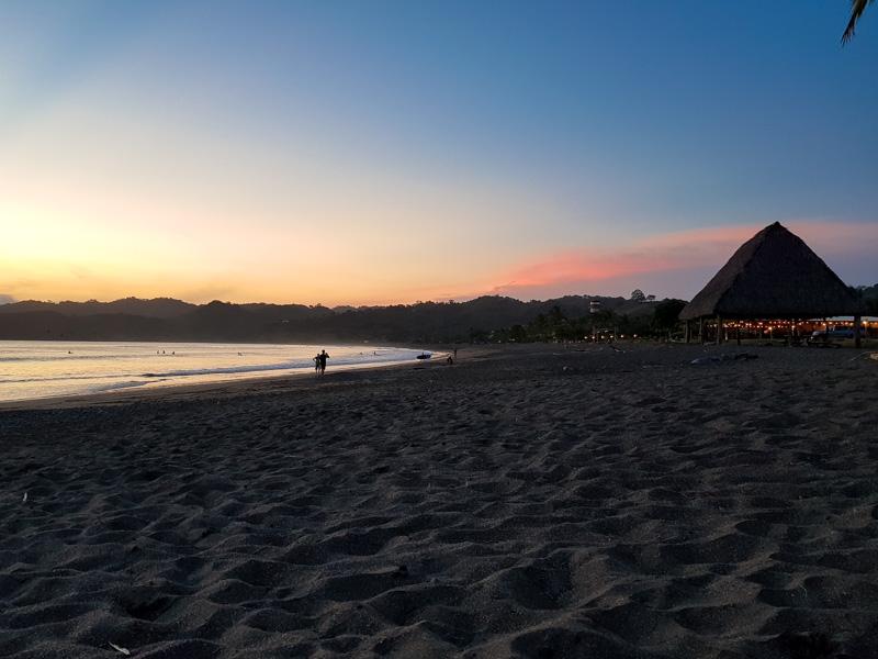 pôr do sol em Playa Venao Panamá