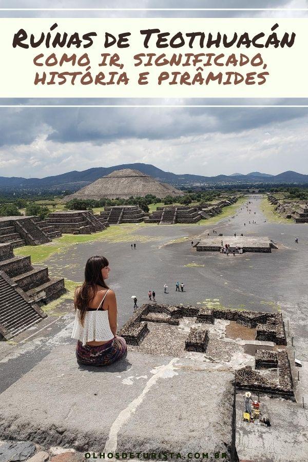 Ruínas de Teotihuacan México