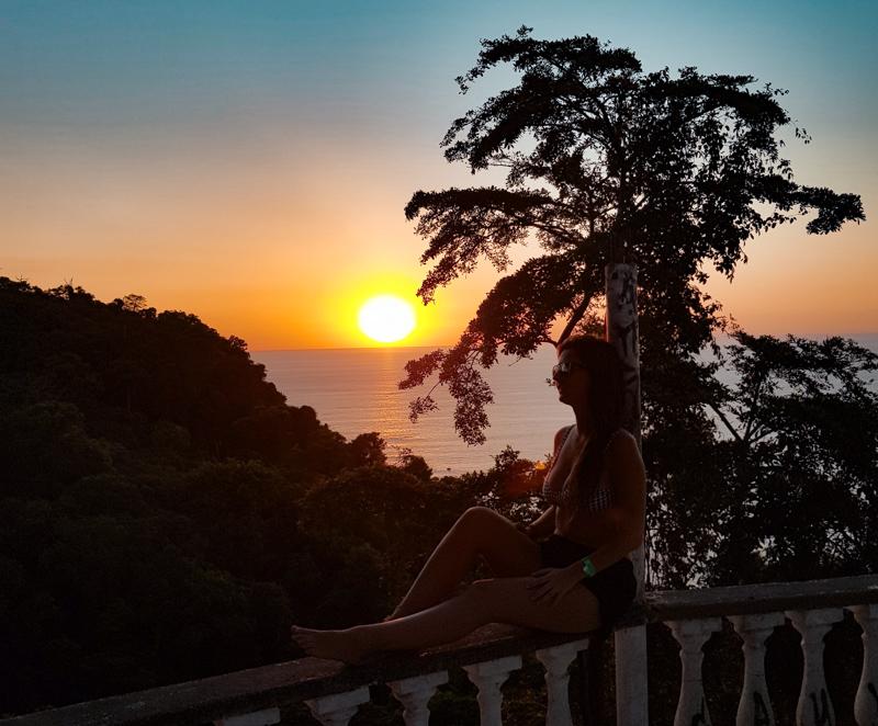 pôr do Sol em Jacó Costa Rica