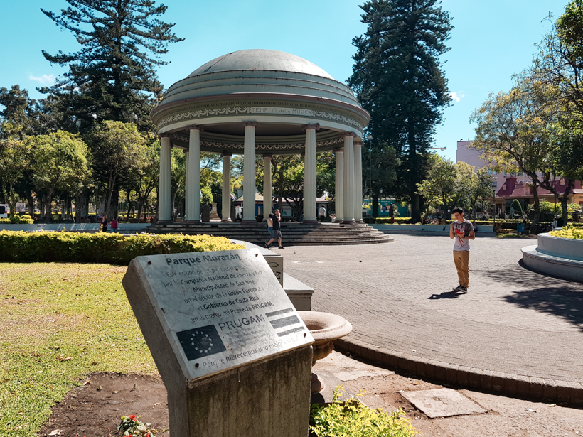 Parque Morazan San José Costa Rica