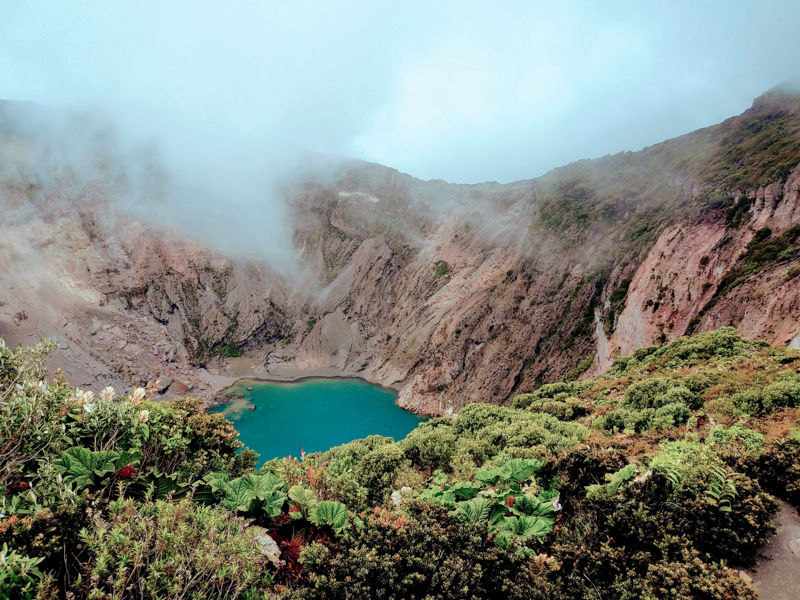 Vulcão Irazú Costa Rica
