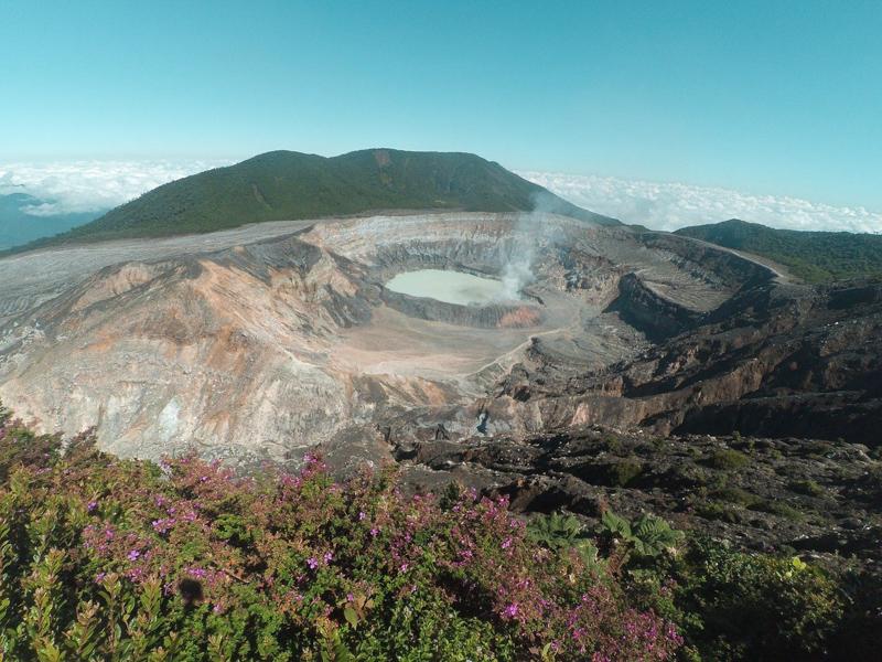 Vulcão Poás San José Costa Rica